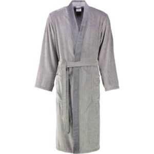 Cawö - Herren Bademantel Kimono 5840 - Farbe: stein - 37 XL