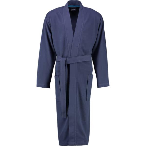 Cawö Home Herren Bademantel Kimono 816 - Farbe: marine - 14 M