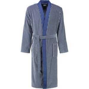 Cawö - Herren Bademantel Kimono 2843 - Farbe: blau - 17 XL