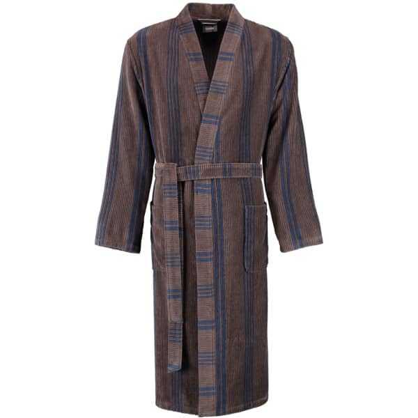 Cawö Herren Bademantel Kimono 2508 - Farbe: tabak - 31 XL