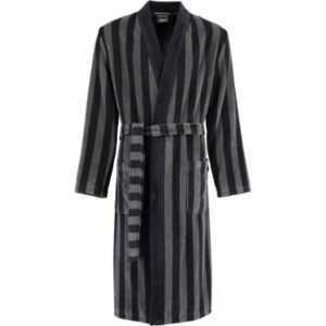 Cawö Herren Bademantel Kimono 2612 - Farbe: schwarz - 97 S