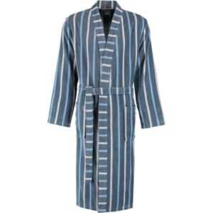 Cawö Herren Bademantel Kimono 3835 - Farbe: aqua - 11 S