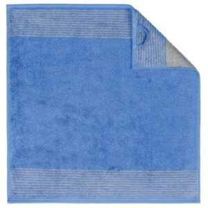 Cawö Two-Tone 590 - Küchenhandtuch 50x50 cm - Farbe: blau - 17