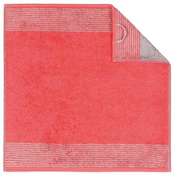 Cawö Two-Tone 590 - Küchenhandtuch 50x50 cm - Farbe: rot - 27