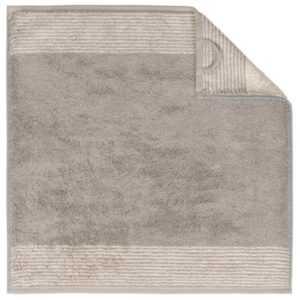 Cawö Two-Tone 590 - Küchenhandtuch 50x50 cm - Farbe: graphit - 70