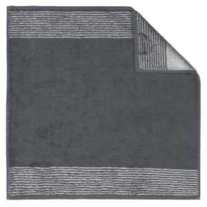 Cawö Two-Tone 590 - Küchenhandtuch 50x50 cm - Farbe: schiefer - 77