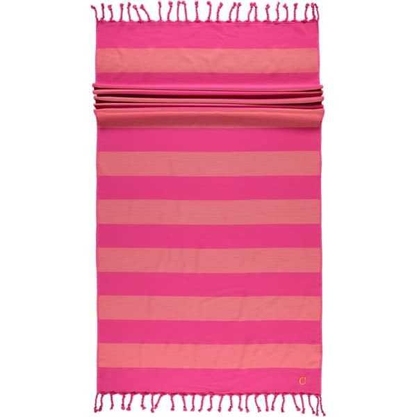 Cawö - Badetuch Code Hamam Blockstreifen 5503 - 90x180 cm - Farbe: pink - 23