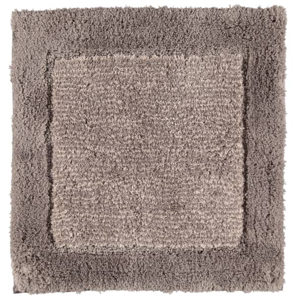 Cawö Home - Badteppich Luxury Home Two-Tone 590 - Farbe: graphit - 70 60x60 cm